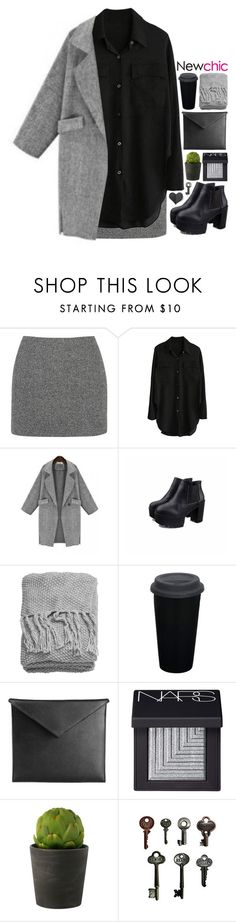 """""""NC 5"""" by emilypondng ❤ liked on Polyvore featuring T By Alexander Wang, H&M, Mark/Giusti, NARS Cosmetics, Linea, Advantus and newchic"""