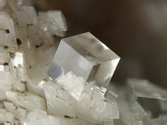 Fluorite cube / Durfort Mine, Languedoc-Roussillon, France