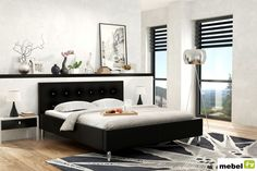 Łóżko IGUANA z opcją pojemnika na pościel - sklep meblowy Bed, Furniture, Home Decor, Decoration Home, Stream Bed, Room Decor, Home Furnishings, Beds, Home Interior Design