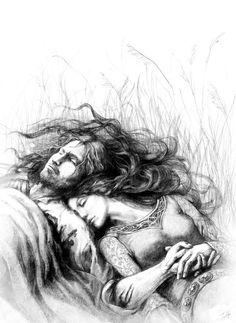 Beren and Luthien in Death