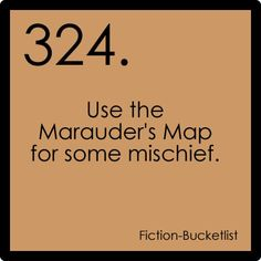 Fiction Bucket List