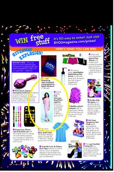 Featured in May/June issue of BYOU magazine!