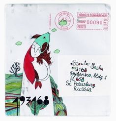 Mail art: почтовые радости своими руками — Look At Me — Посты — поток «DIY»