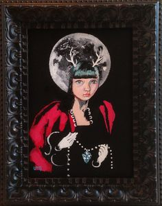 Summer Moon: A Small Works Exhibit Presented by Ghost Gallery and Twilight…