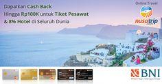 Kunjungi halaman #promoKartuKreditBNI www.nusatrip.com/bni hanya di #NusaTrip #promo #kartukredit #BNI