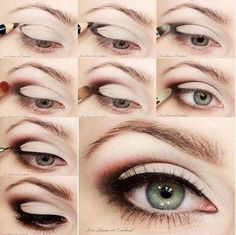 how to do a simple smokey eye...for those who are make-up challenged. like me....