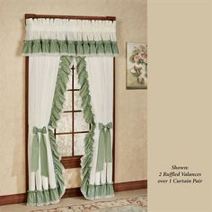 Madelyn Priscilla Curtain Pair