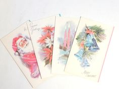 Christmas Cards New Vintage Holiday Cards