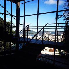 Do #ParquedasRuínas, uma impressão linda do #RiodeJaneiro pelo olhar da nossa leitora Andrea Silva. Confira: http://portalorio.com.br/pao-de-acucar-pelo-parque-das-ruinas-impressao-de-andrea-silva/
