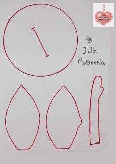 Olhem o molde da doll da artista russa Julia Moiseenko  . Um verdadeiro presente. Acompanhe o tutorial completo aqui