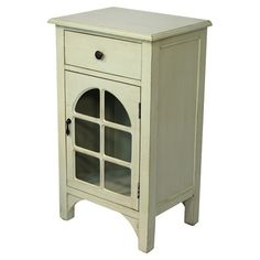 Found it at Wayfair - Wooden Cabinet in Light Green