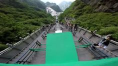 Parkour course in China