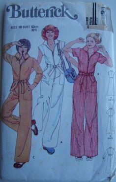 1970's Sewing Pattern  Butterick 5889 Misses by jennylouvintage