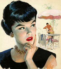 Arthur Sarnoff (1912-2000, American illustrator)