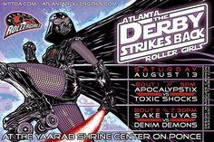 ESB themed Atlanta Roller Derby poster