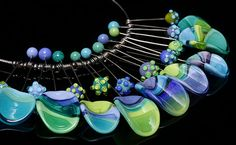 """Necklace from """"Tribal Necklace Series"""" by Beth Williams"""
