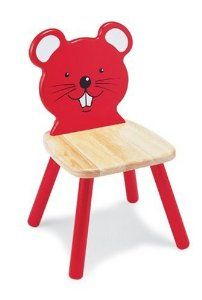 Pintoy Wooden Mouse Chair by Pintoy Furniture - Pintoy Toys £28.54