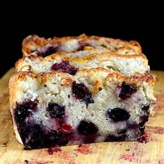Smashed Blueberry Lemon Cake recipe