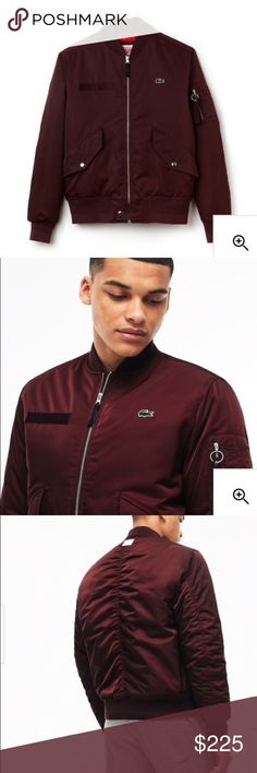 I just added this listing on Poshmark: Men's Live Lacoste Quilted Twill Bomber Jacket. #shopmycloset #poshmark #fashion #shopping #style #forsale #Lacoste #Other
