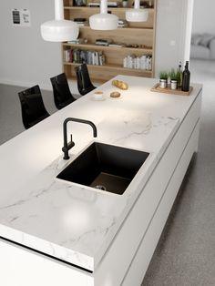 - Lilly is Love Simple Kitchen Design, Kitchen Room Design, Luxury Kitchen Design, Home Decor Kitchen, Kitchen Interior, Home Kitchens, Handleless Kitchen, Diy Kitchen Remodel, Minimalist Kitchen