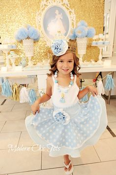 Cinderella Party Outfit, Cinderella Dress-up apron