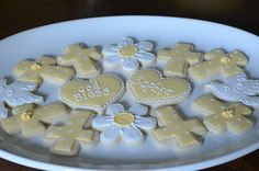 C2 Cookie Construction: Lemon Cake Recipe and First Holy Communion