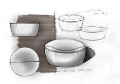 """Mizu, disegnato da Emo #design Il #volume composto da più componenti definiscono la """"scocca esterna"""""""