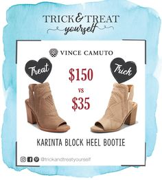 f3c81bf8566 SHOE DUPE ALERT!  target has the perfect dupe for the  vincecamuto Karinta  Block