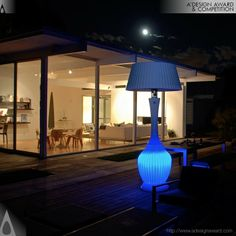 Allison - Kindle Living Patio Heater and Lamp by Arturo Fis. DESIGN NAME:Allison - Kindle Living. The marriage of function and design culminate in a groundbreaking transformation. Aside from its obvious sculptural appeal, the design of the Kindle Heater results in a more effective heating canopy. Join today to #A'Design #Award, register -http://whatisadesignaward.com/#register .  IMAGE CREDITS: Team Kindle Living & Arturo Fis.