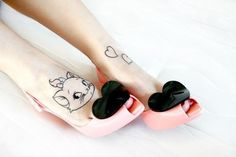 Ain't these shoes adorable #tattoo #tattoos #tattooed #tattooedwomen #rebel #rebelcircus