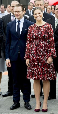 Crown Princess Victoria and Prince Daniel visit Lima for an official visit to Peru on October 20, 2015.