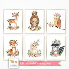 Add the finishing touches to your own decor or surprise a friend with a sweet print set by Peanut Prints Boutique ☺ ►Please note that no physical product will be shipped to you.◄ You are purchasing an INSTANT DOWNLOAD OF 4 high resolution JPEG files, sized 8x10 for home