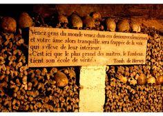 Guide de voyage Escapades   Journées du patrimoine 2014 : visites hors des sentiers battus > Les Catacombes de Paris - Partageco.fr