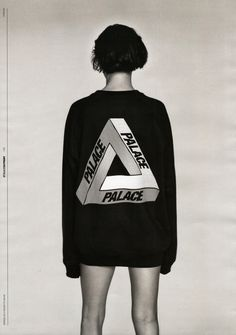 Eliza Cummings in the Fall 2013 issue of STYLE.COM/PRINT wearing Palace Clothing photographed by Alasdair McLellan.