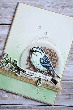 The Stamping Blok: Just Add Ink #320 - Best Birds Sketch