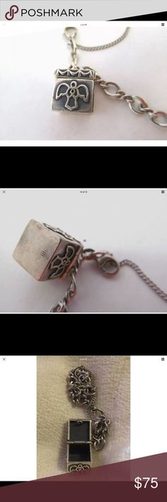 James Avery Angel Prayer box charm. Sterling Hard to find Angel Prayer box... solid, substantial quality, Charm only Jewelry