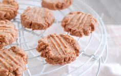 花生醬餅乾 【4種材料】食譜、作法 | Mrs Ps Kitchen的多多開伙食譜分享