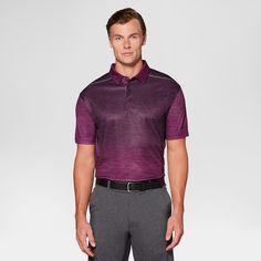Men's Heather Ombre Golf Polo - Jack Nicklaus Potent Purple Xxl, Dark Purple