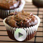 Vegan Chocolate Avocado Cupcakes & Video