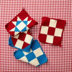 4th Of July Potholders