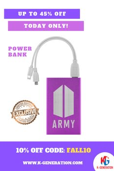 💜 Hey ARMY, Which Power Bank do you like? Love Yourself, Face Yourself or Speak Yourself?  😖 Running out of battery is, quite simply, the worst! Don't let low battery get you down! Carry a juice Power Bank with you and you'll never get caught out again! ⚠️ Up to 45% OFF - Our sale is ending today!  🔥 Extra 10%offfor with thiscode: FALL10 👆 CLICK IMAGE TO SHOP👆  #BTSPOWERBANK #BTSPHONECHARGER #BTSARMYPHONECHARGER #BTSARMY #BTSXARMY