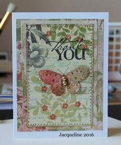Thank You by SouvenirdelaFrance on Etsy