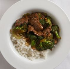 Stir-Fried+Beef+&+Broccoli+with+Black+Bean+Sauce