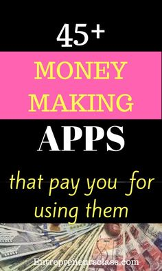 Copy Paste Earn Money - Money making apps that pay you money.Check out the list of 45 smartphone apps that pays you money. You're copy pasting anyway.Get paid for it. Earn Money From Home, Make Money Fast, Earn Money Online, Online Jobs, Best Money Making Apps, Make Money Blogging, Money Tips, Saving Money, Digital Marketing Strategy
