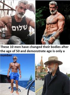 These 10 men have changed their bodies after the age of 50 and demonstrate age is only a number | Cheap Advices