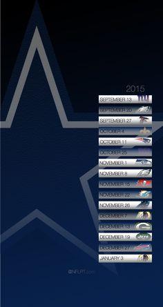 Dallas Cowboys 2015 Schedule