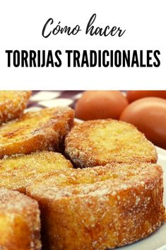 Spanish Desserts, Fun Desserts, Delicious Desserts, Dessert Recipes, Yummy Food, Cooking Without Oil, Bakery Recipes, International Recipes, Food Dishes