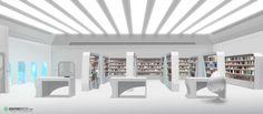 Library illustration Game Design, Loft, Bed, Furniture, Illustration, Home Decor, Decoration Home, Stream Bed, Room Decor