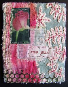 Linda Vincent: fabric collage