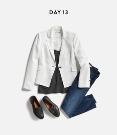 ddbad1aa26 love this outfit. Maybe a different color for the blazer